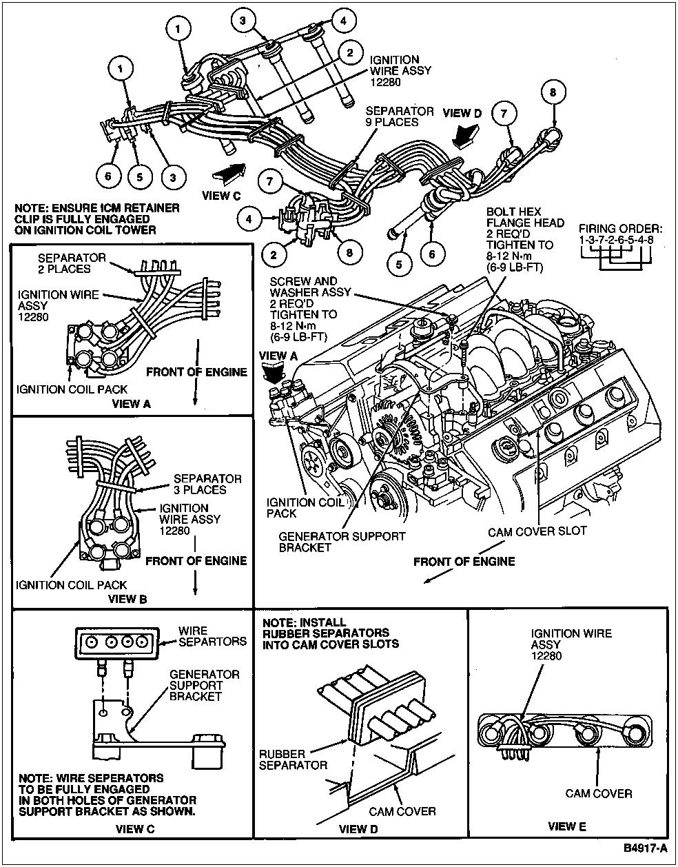 spark plug wiring diagram re spark plug wiring diagram this is 93